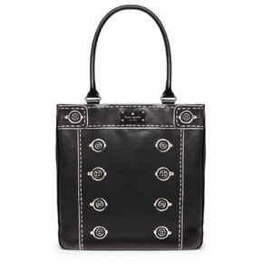 NWT Kate Spade Postmark Jeremy Lacquered Tote